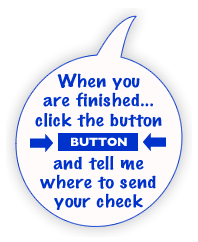 Click button to send check.